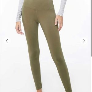 FOREVER 21 High-Waisted Active/Workout Leggings XS